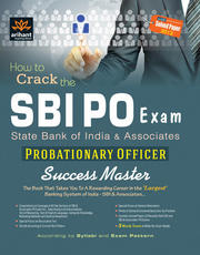 SBI PO Exam- Probationary Officer Success Master Book on 35% discount