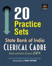 Buy 20 Practice Sets- SBI Recruitment Exam 2014 Book Online