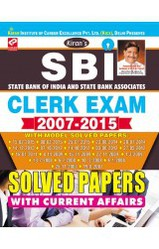 Books for SBI And State Bank Associates Clerk Exam