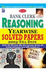 Bank Clerk Reasoning Yearswise Solved Papers