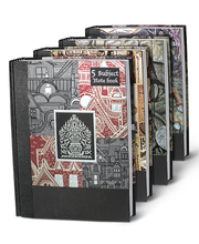 5 Subject Premium Ruled Notebook - Nightingale
