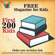 Best Magazine for kids - Squizzl
