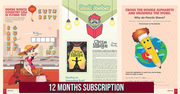 Children Magazine Subscription | Subscribe Magazine for 12 Months