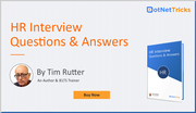 Buy HR Interview Questions and Answers Book,  By Tim Rutter